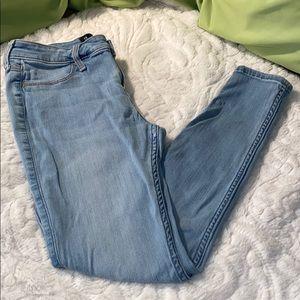 Hollister Blue Jeans low rise legging